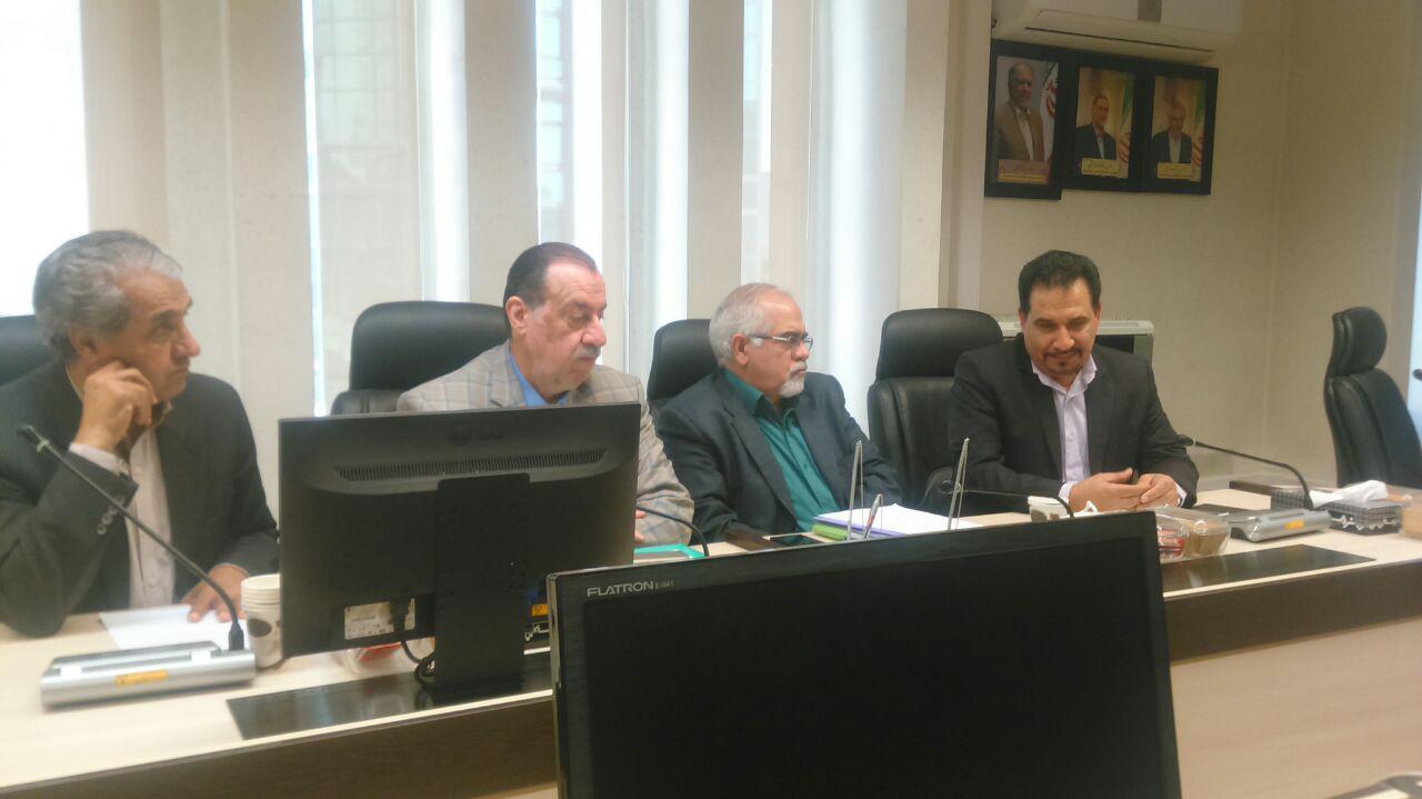 جلسه رییس  و اعضای هییت رییسه شورای مرکزی، با رييس و کمیته بازبینی قانون نظام مهندسی