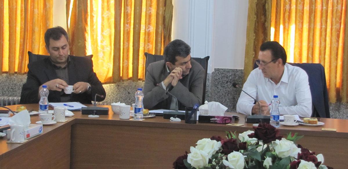 دیدار هیئت رئیسه با دکتر بهادری