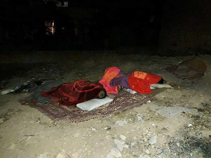 تصاویر مربوط به زلزله اخیر کرمانشاه